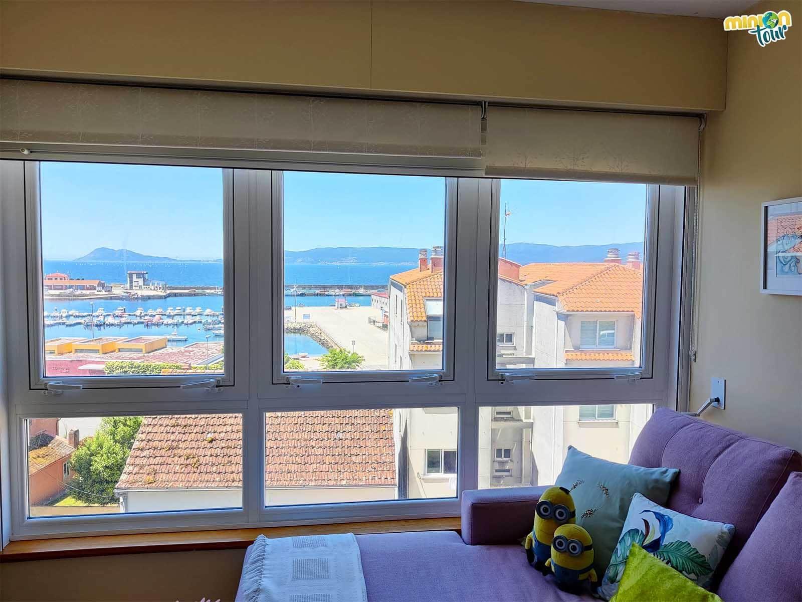 Minions en el Apartamento Noia Compostellae Beach en Portosín