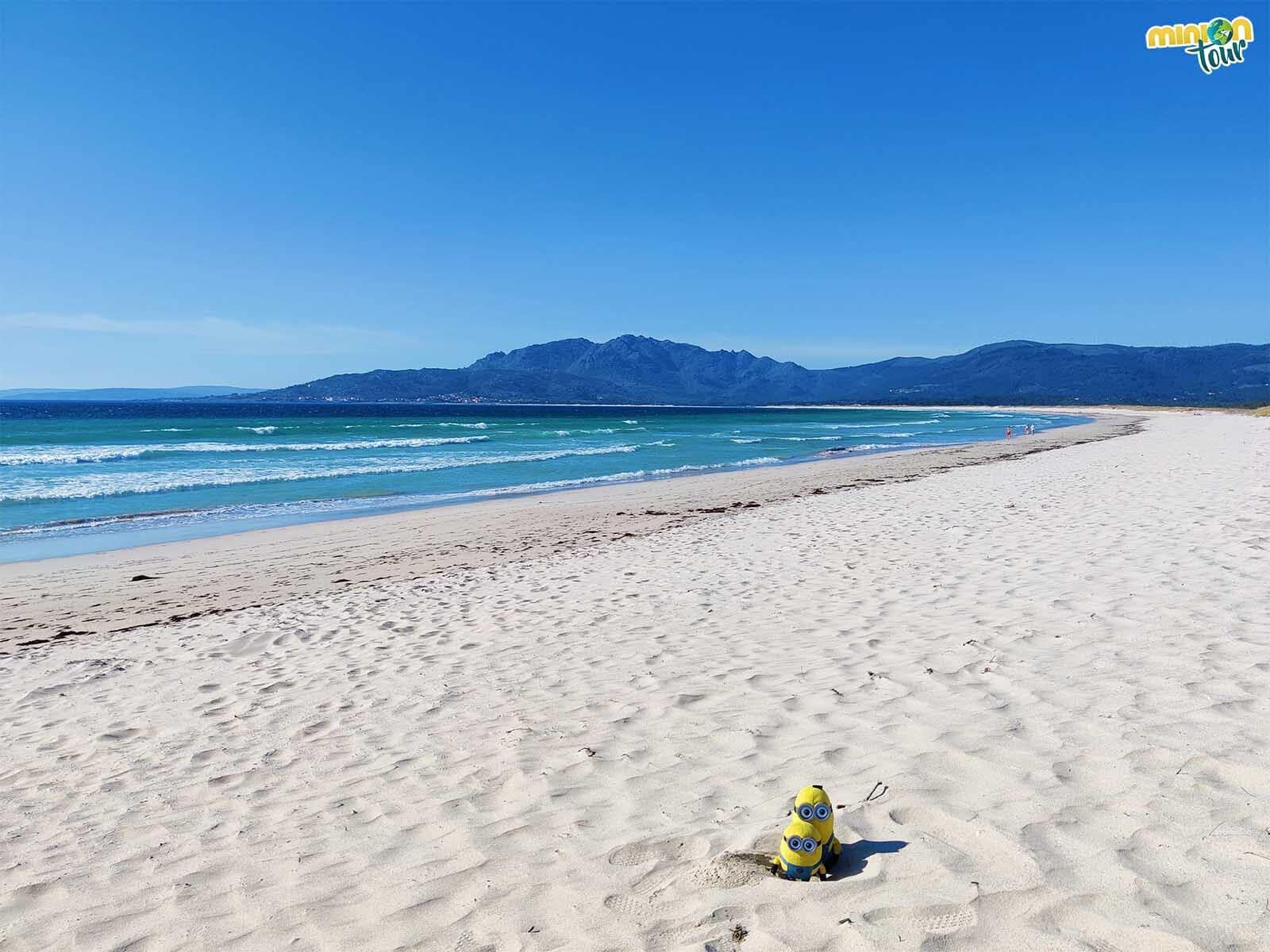 La Playa de Carnota es una de nuestras favoritas de Galicia
