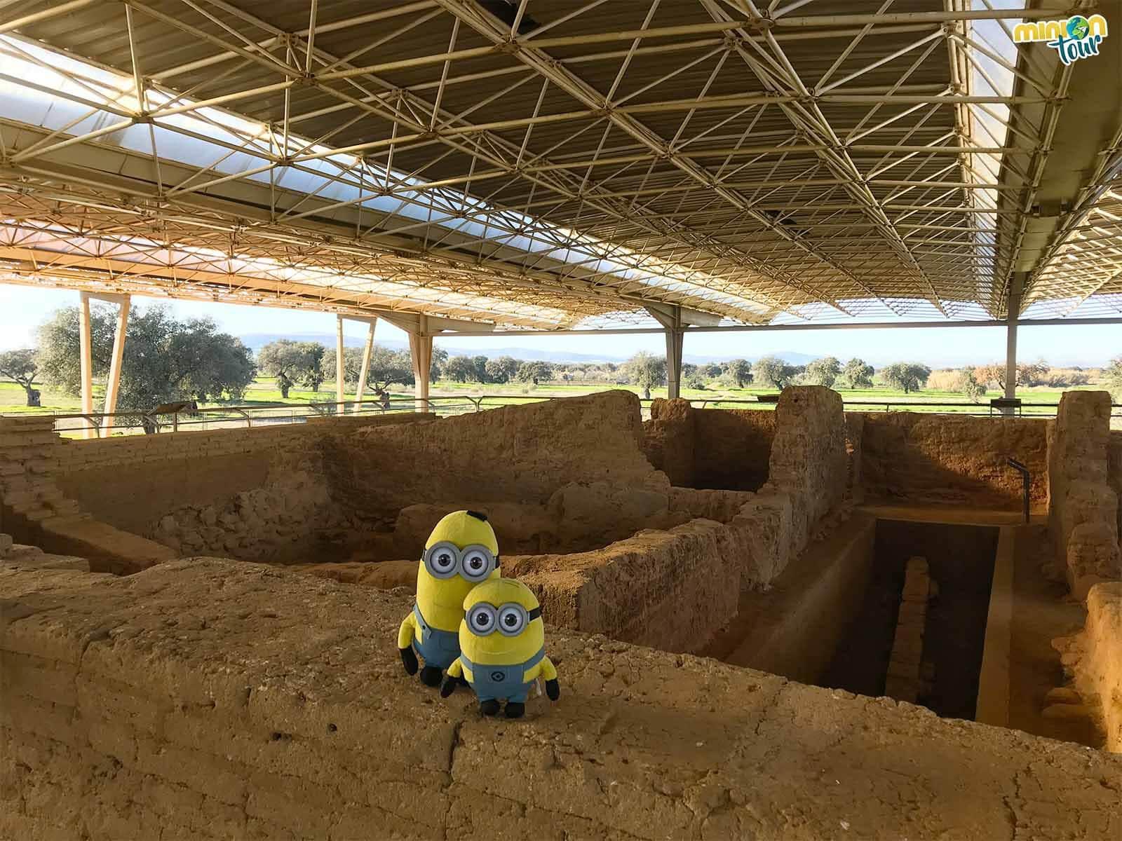 Otra parada en nuestra ruta por la Comarca de La Serena, el Yacimiento de Cancho Roano