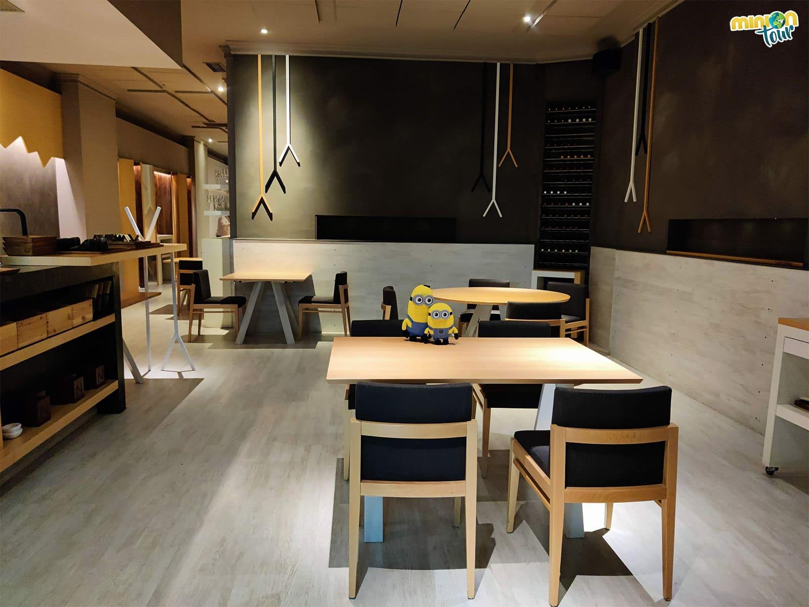 El restaurante Nova, un estrella Michelin en Ourense con cocina de raíces gallegas