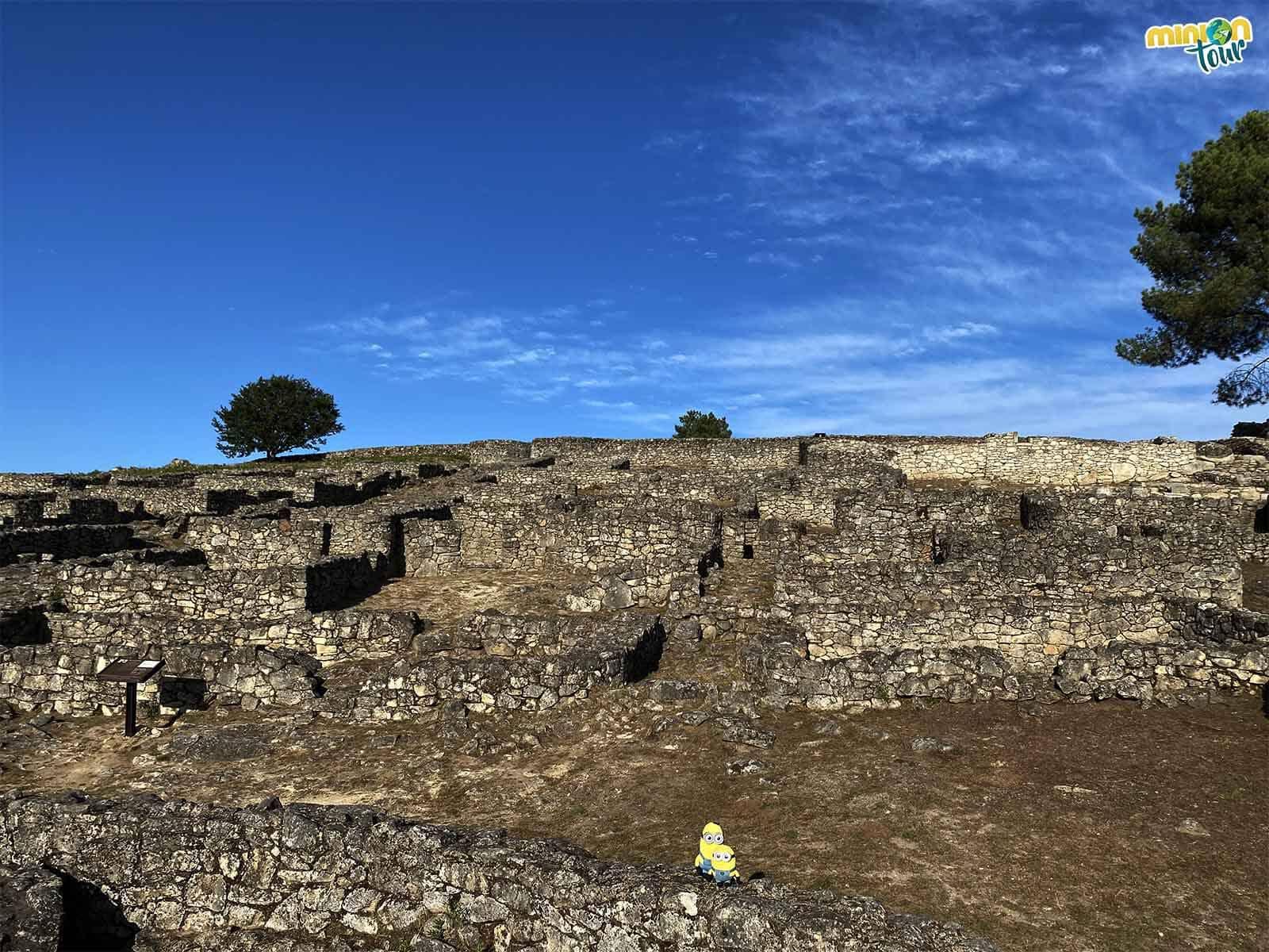 Este castro es uno de los más grandes de Galicia
