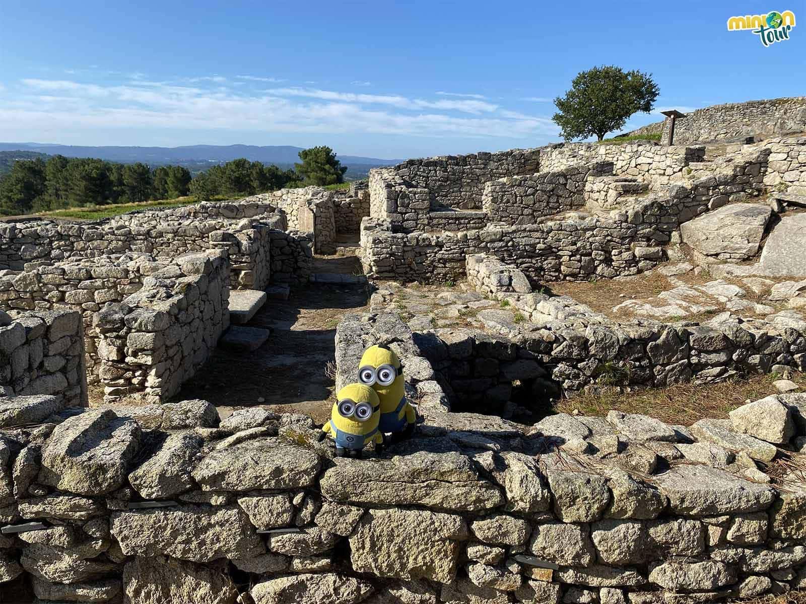 En el castro de San Cibrao de Las había casas romanas