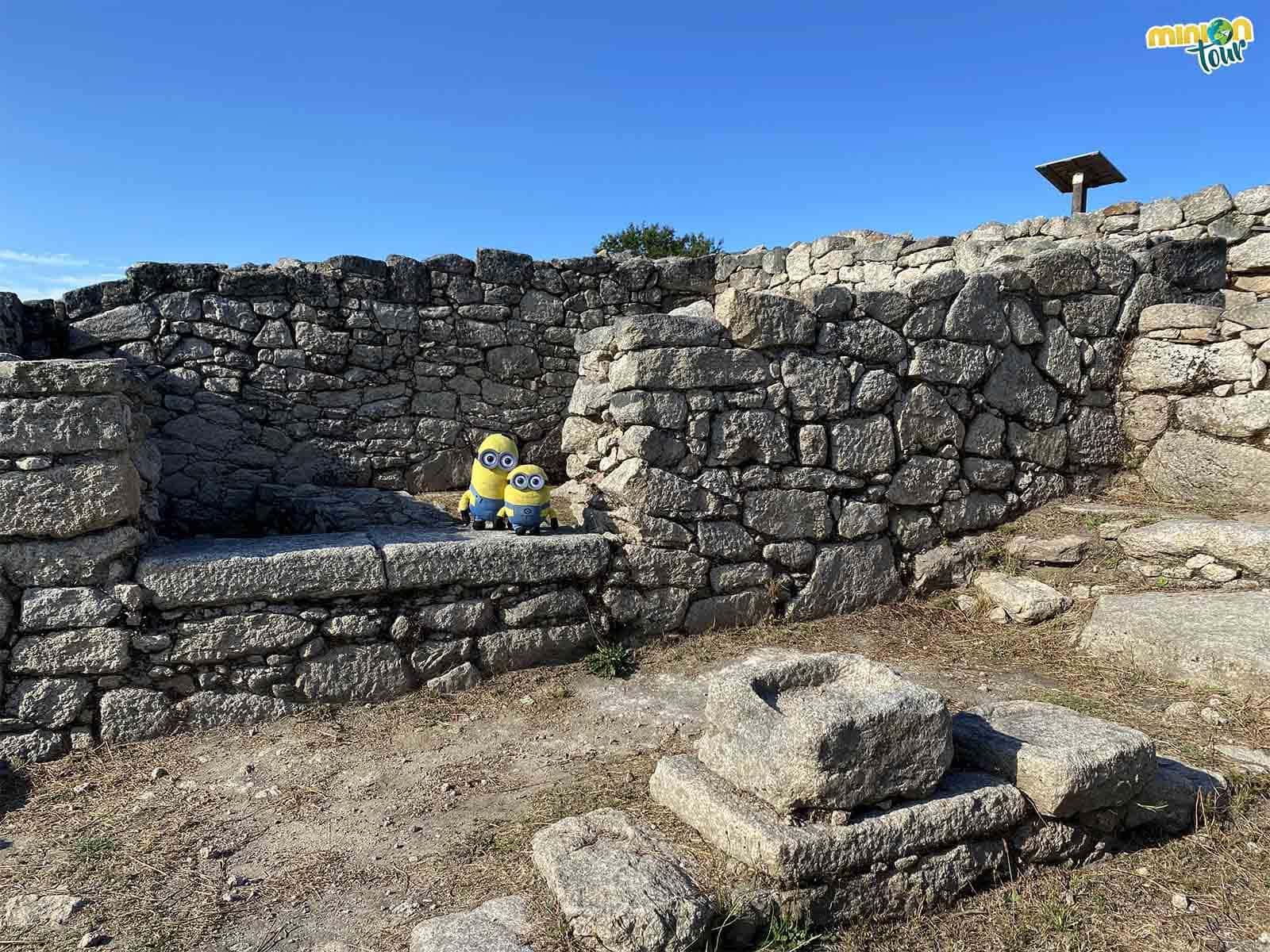 La casa de una familia de bien de la época romana en el Castro de San Cibrao de Las